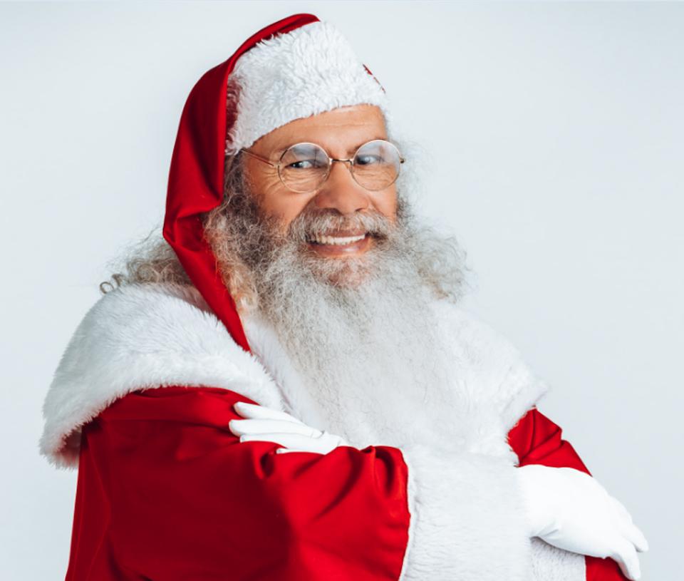 A grande chegada do Papai Noel