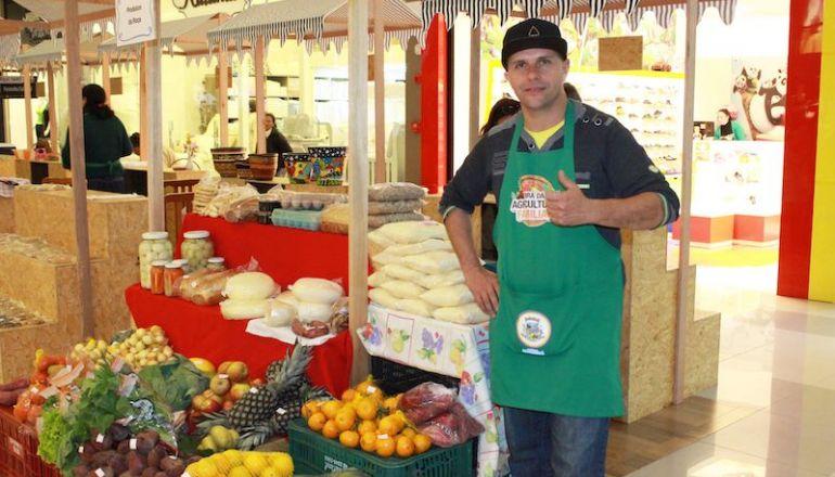 Feira da Agricultura Familiar traz neste sábado o melhor do campo ao Center Shopping