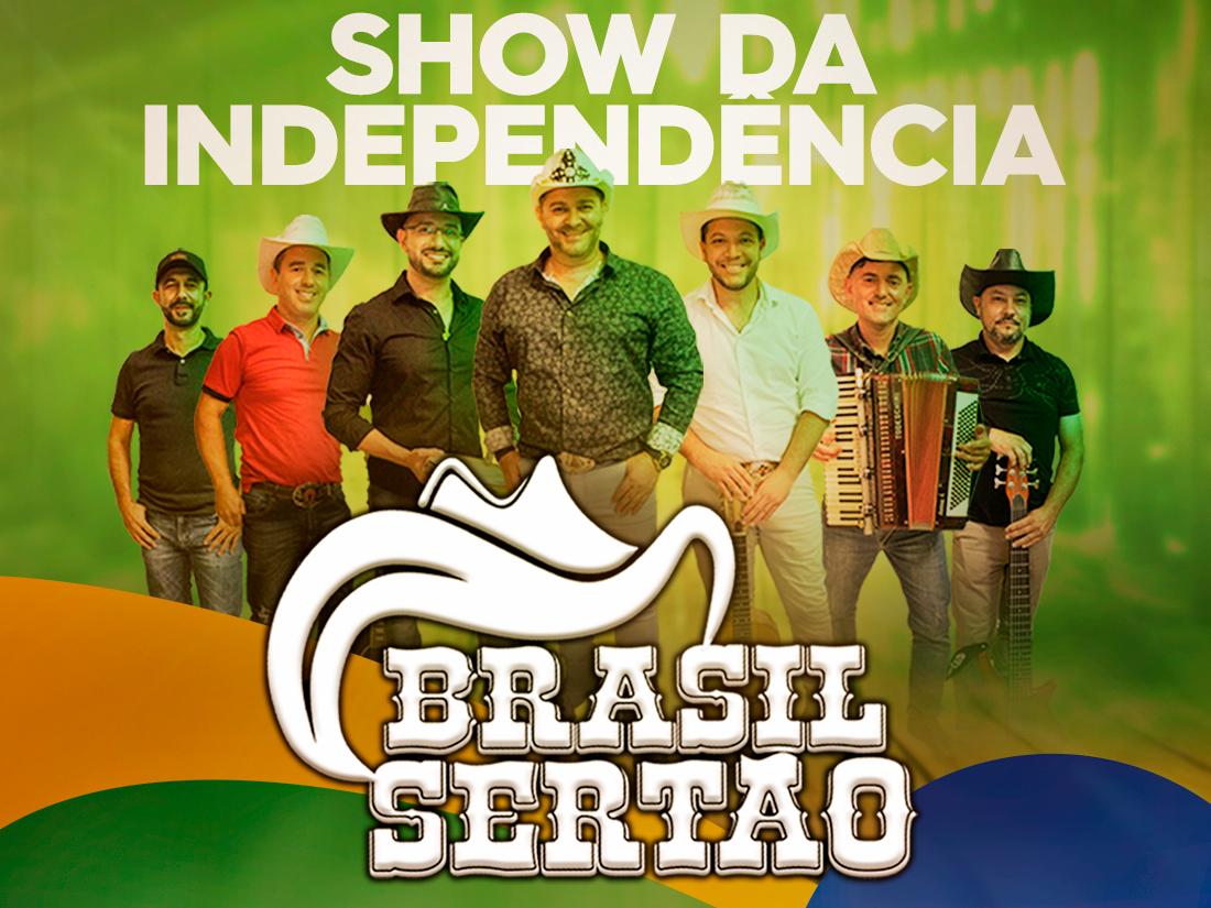 Center Shopping divulga atrações do feriadão de 7 de setembro com show da banda Brasil Sertão nas vésperas do feriado